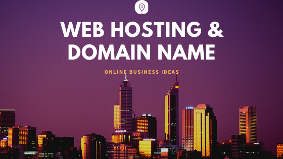web hosting and domain name services